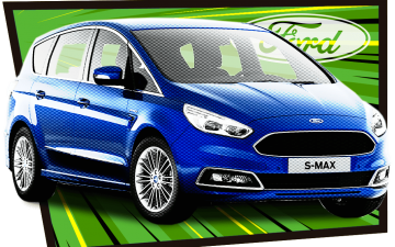 Rent Ford S-Max