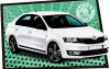 Rent Skoda Rapid 1.6 TDI